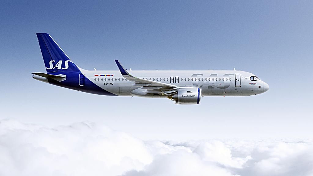 SAS - Airbus A 320neo - ny livery - 2019