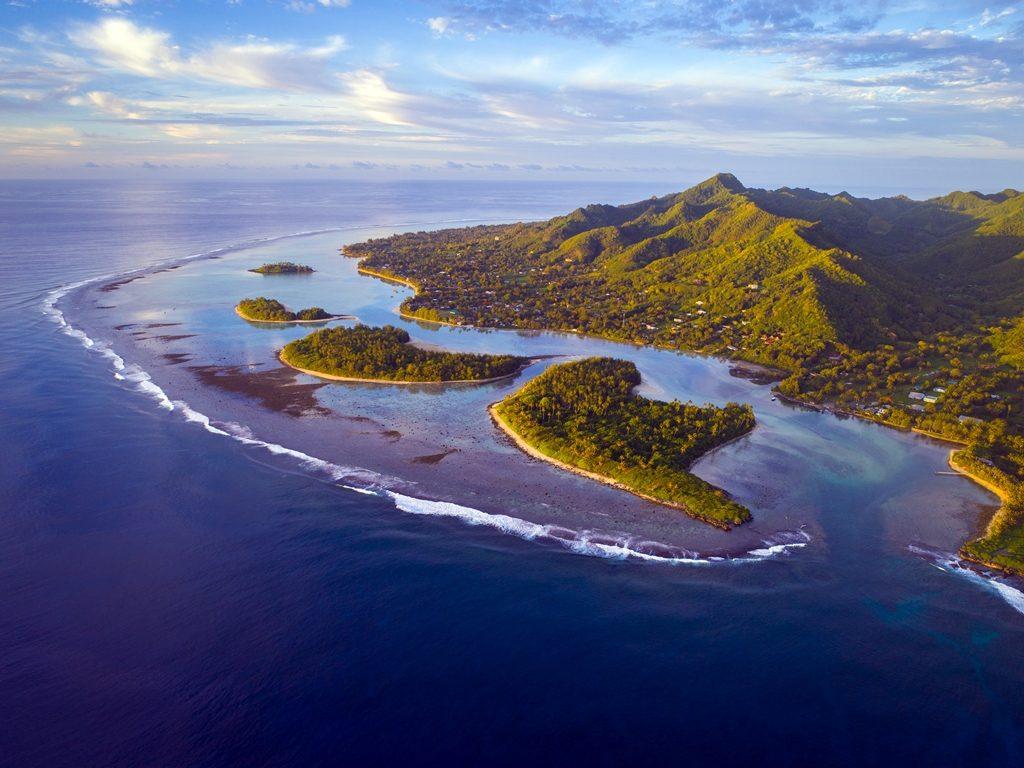 Cook Island - Sydhavsøyer - Stillehavet - Rarotonga