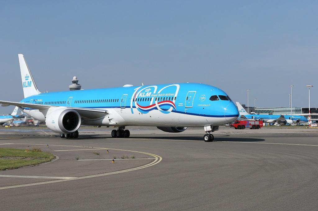 KLM - Boeing 787-10 - Dreamliner - 100 års jubileumslogo