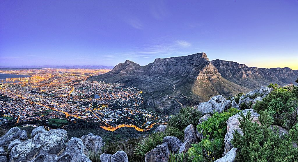 Emirates - Destinasjoner - Sør-Afrika - Cape Town
