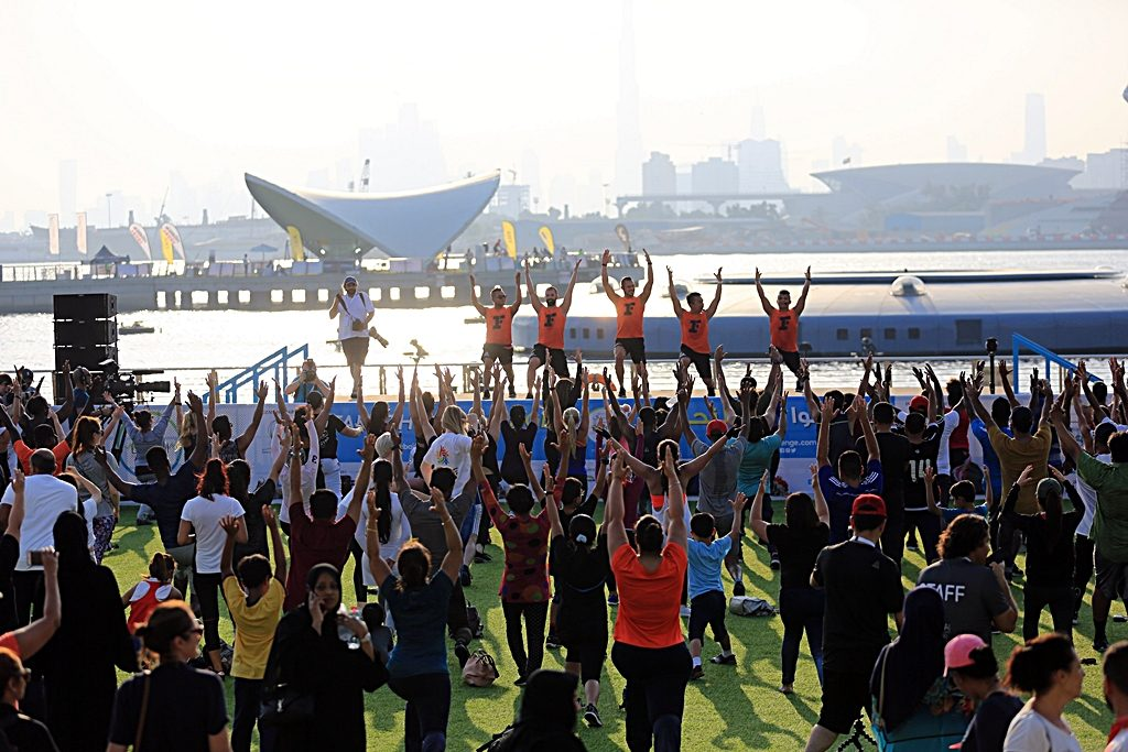Dubai Fitness Challenge - Festival - aktiviteter - UAE