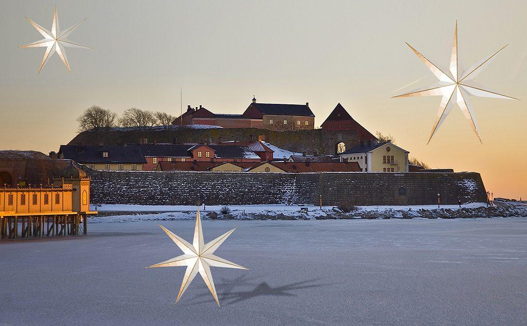 Julemarked - Varbergs fästning - Halland - Sverige