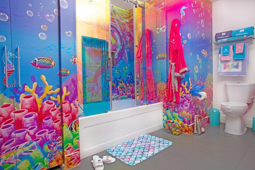 Hotels.com - Lisa Frank leilighet - Los Angeles - bad/toalett