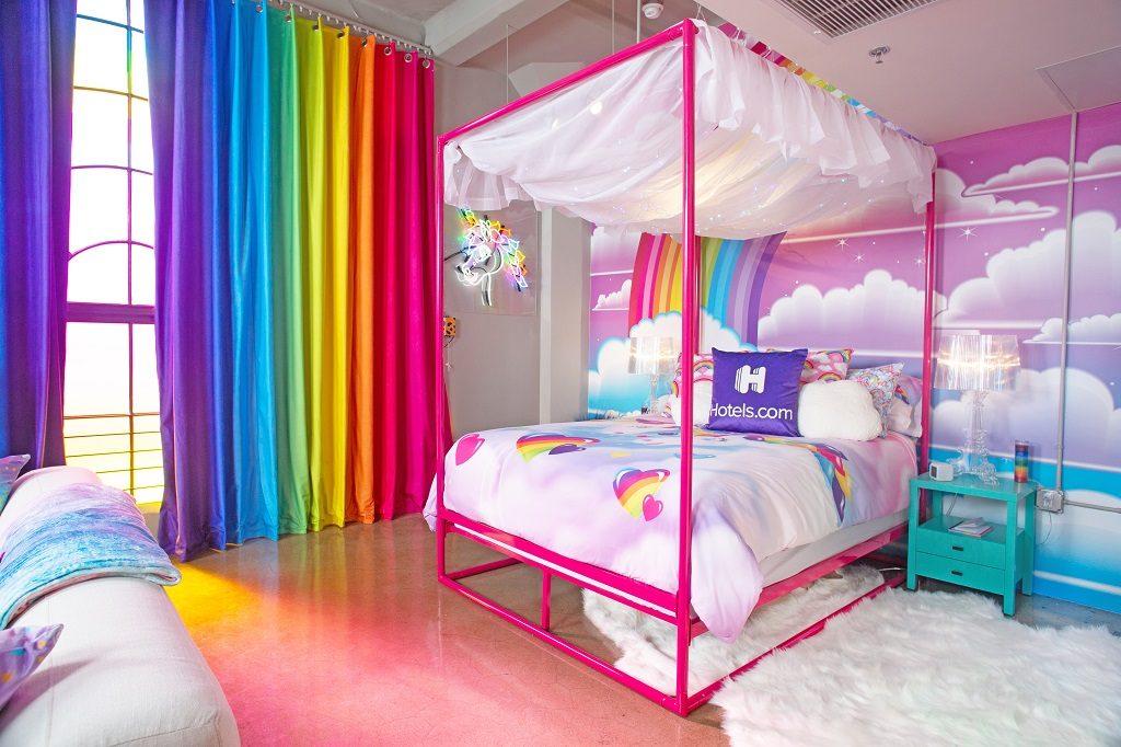 Hotels.com - Lisa Frank leilighet - Los Angeles - Soverom
