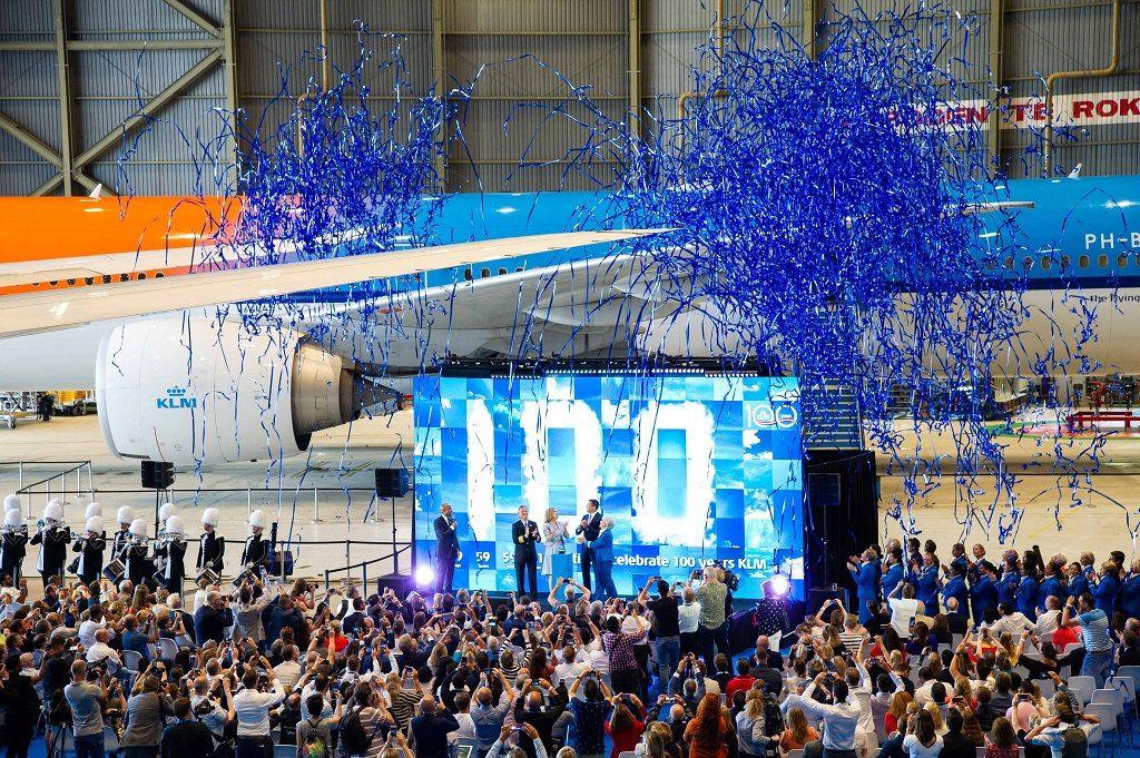 KLM 100 - Arrangement - Amsterdam - sommeren 2019