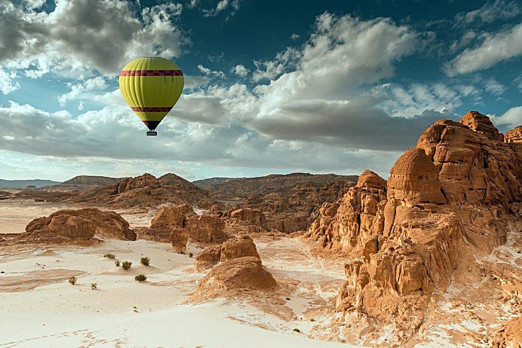 Emirates - Destinasjoner - Sør-Afrika - Ballongflyvning