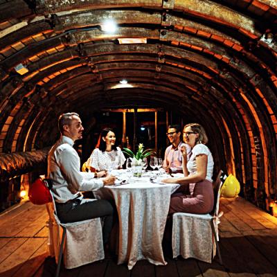 Slovenia - Velenje - Dining - middag - under jorden