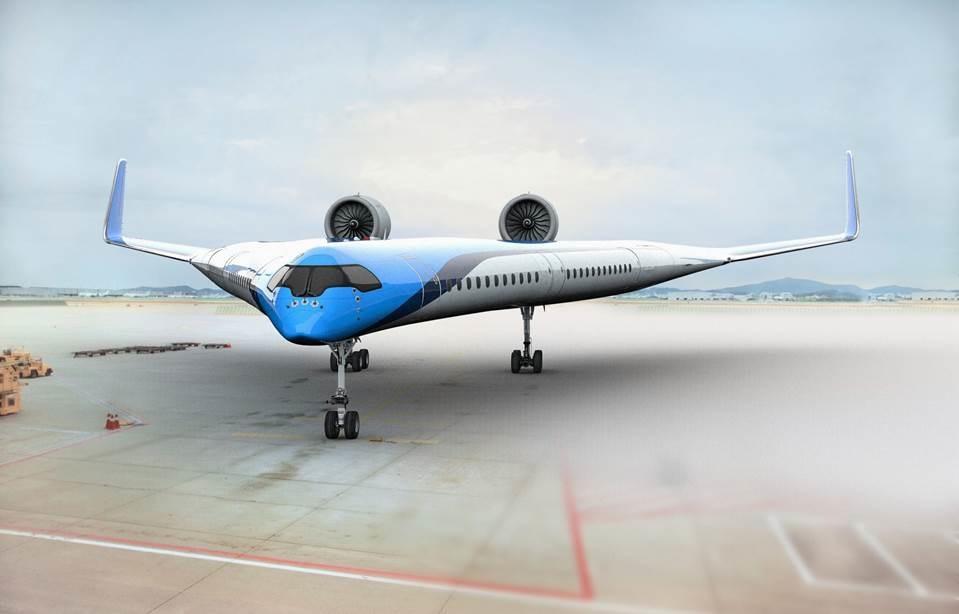 KLM- Flying V - fremtidsfly - 2019
