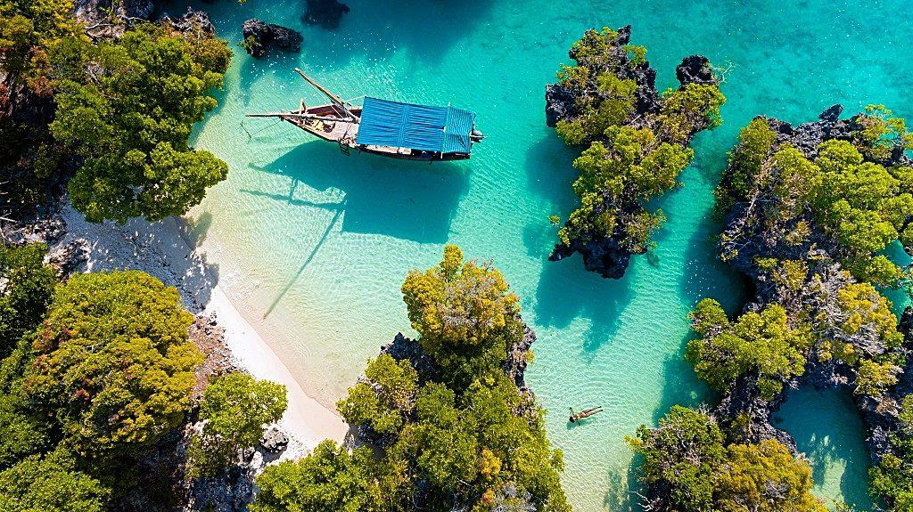 Emirates - Destinasjoner - Zanzibar - Det Indiske hav