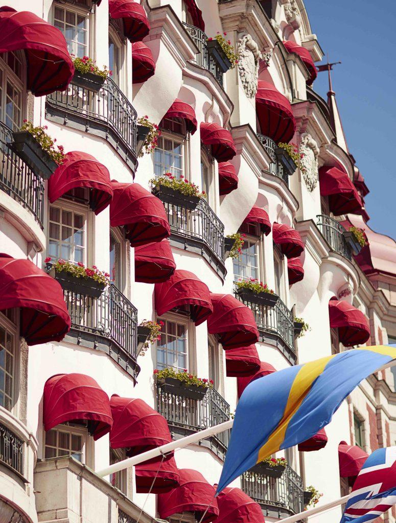 Fasade - hotel diplomat - Stockholm - Sverige