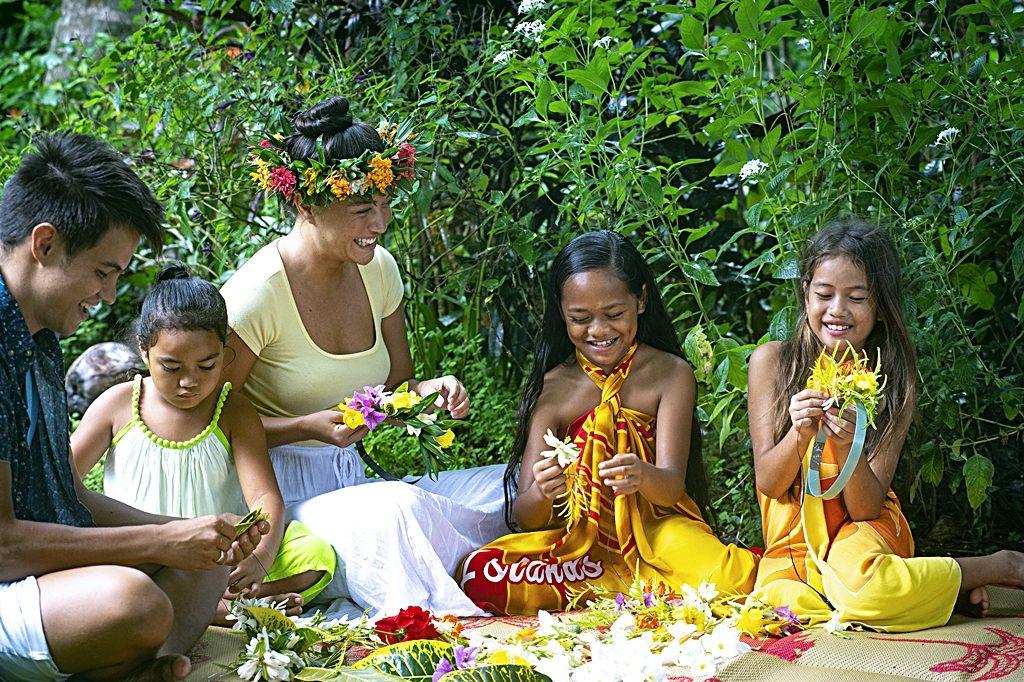 Cook Island - Sydhavsøyer - Stillehavet - Familie