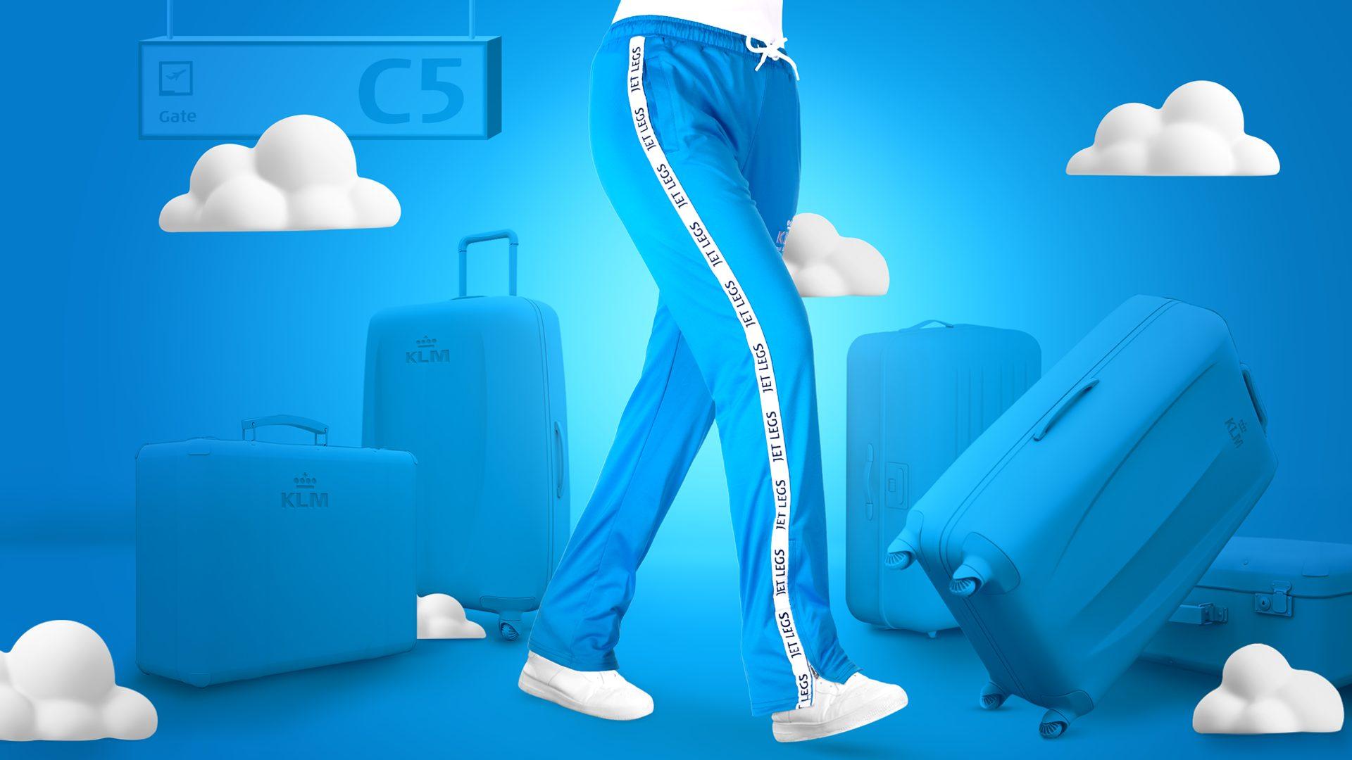 KLM - Jetlegs - Fashion - flybukser - gjenbruksmateriale