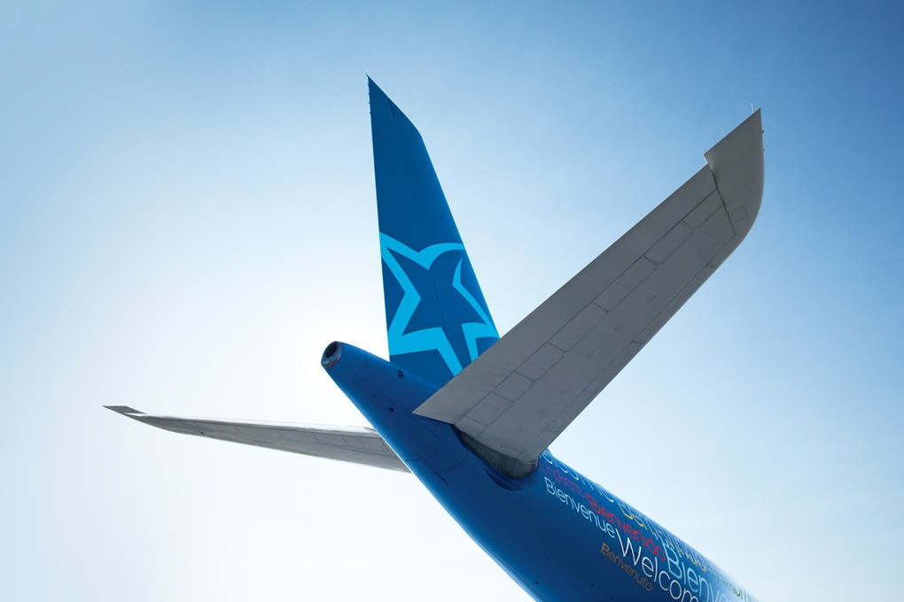 Logo - Air Transat - Airbus A 320 family