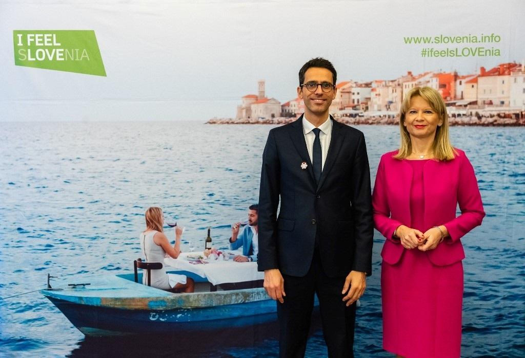 Maja Pak -turistdirektør - Slovenia - Romain Perrier - markedsdirektør - Michelinguiden