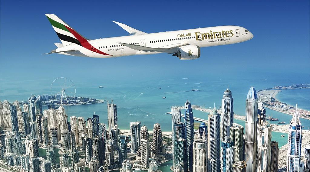 Emirates - Boeing 787 Dreamliner - Dubai