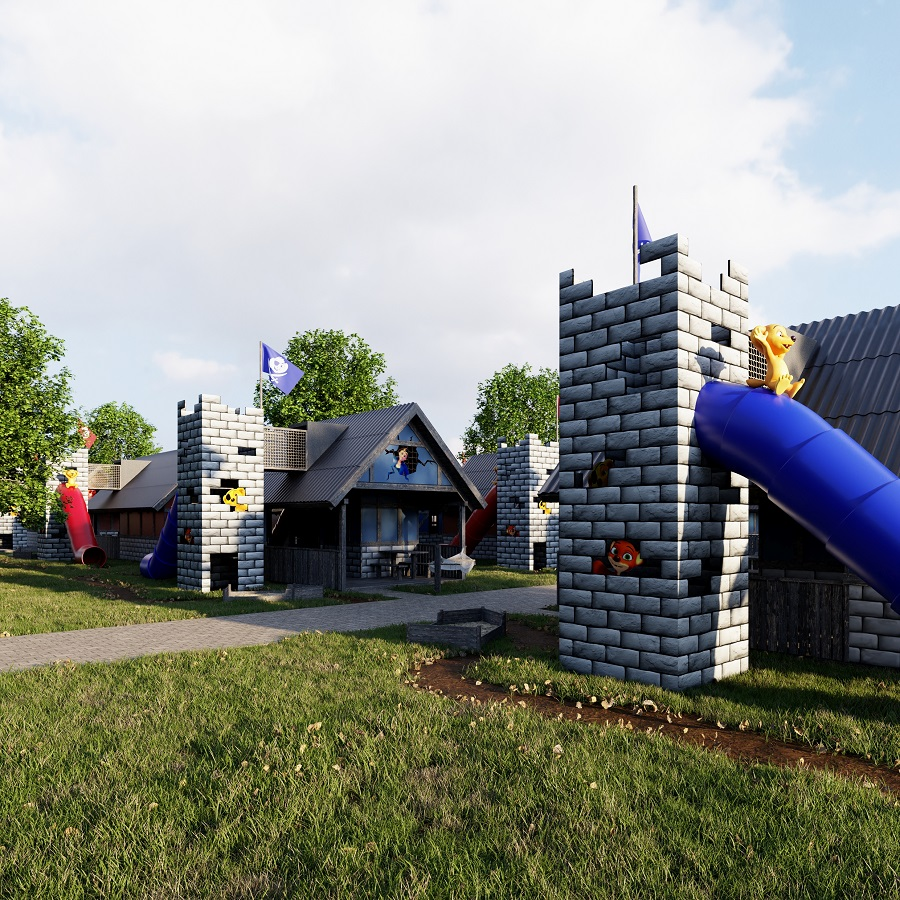Jesperhus - Pirathytte - Familiepark - Mors - Jylland - Danmark