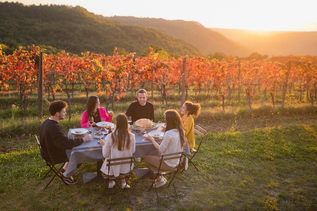 Istria - Slovenia - kulinariske opplevelser i naturen
