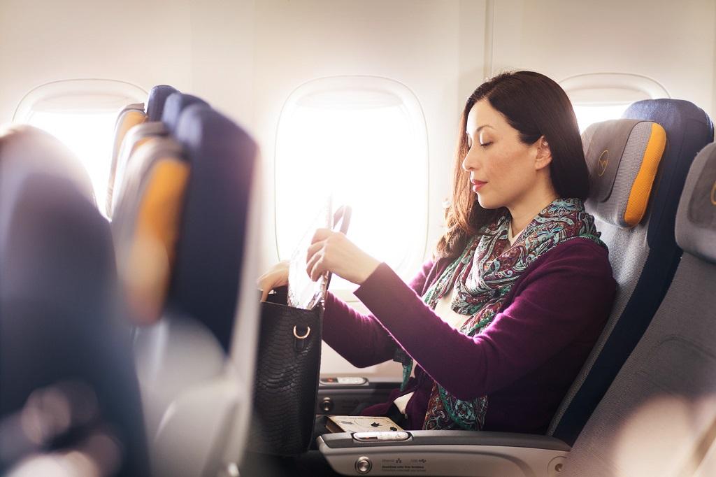 Økonomiklasse - Lufthansa - Langdistanse - Long Haul