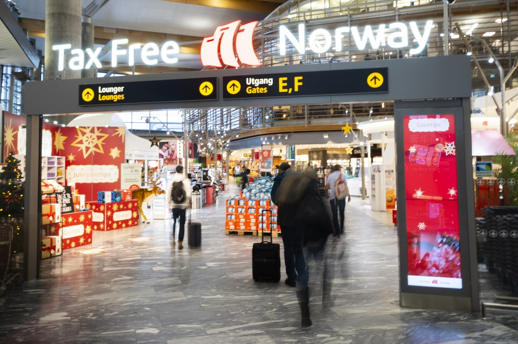 Tax Free Norway Oslo Lufthavn - Travel Retail Norway