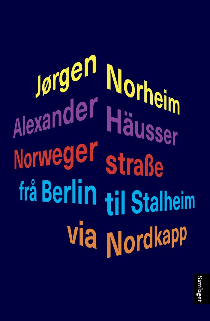 Norwegerstrasse - Bokforside - Samlaget