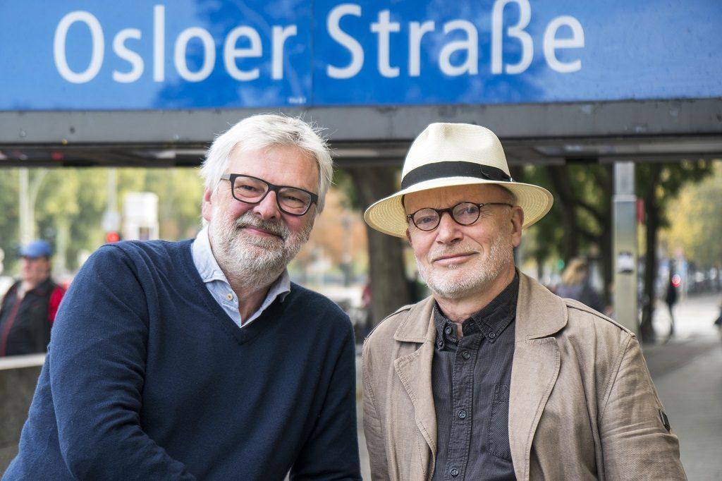 Jørgen Norheim og Alexander Häusser - Forfattere - Norwegerstrasse - Samlaget