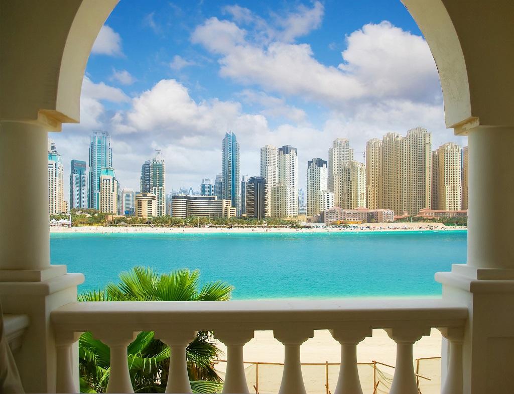 Dubai - kontraster - arkitektur - Emirates