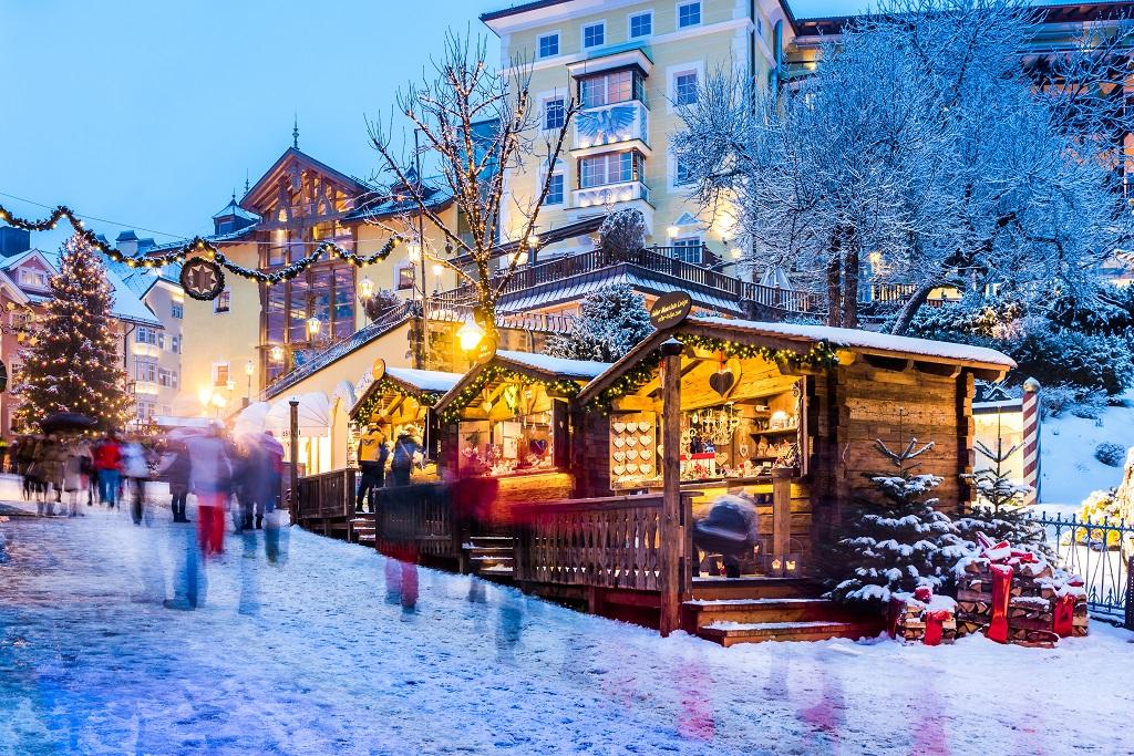 Julemarked - Ortisei - Val Gardena - Italia