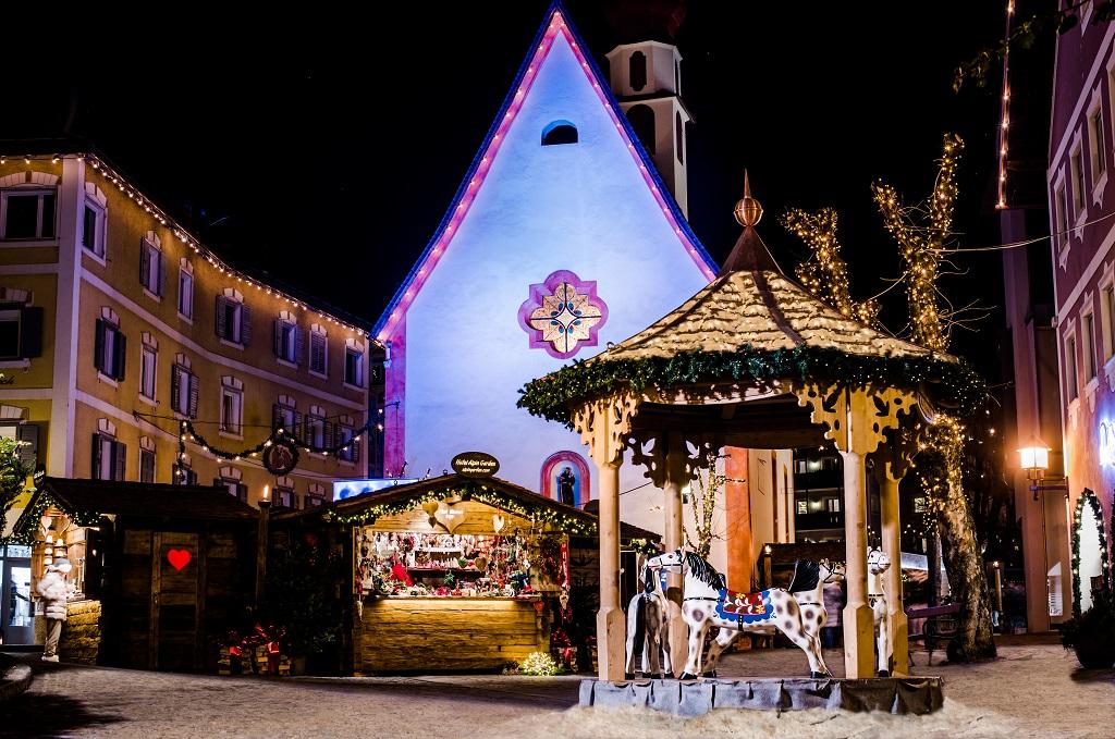 S. Antonio - Julemarkedet eller Mercatino i Ortisei (Bildekilde: Val Gardena)