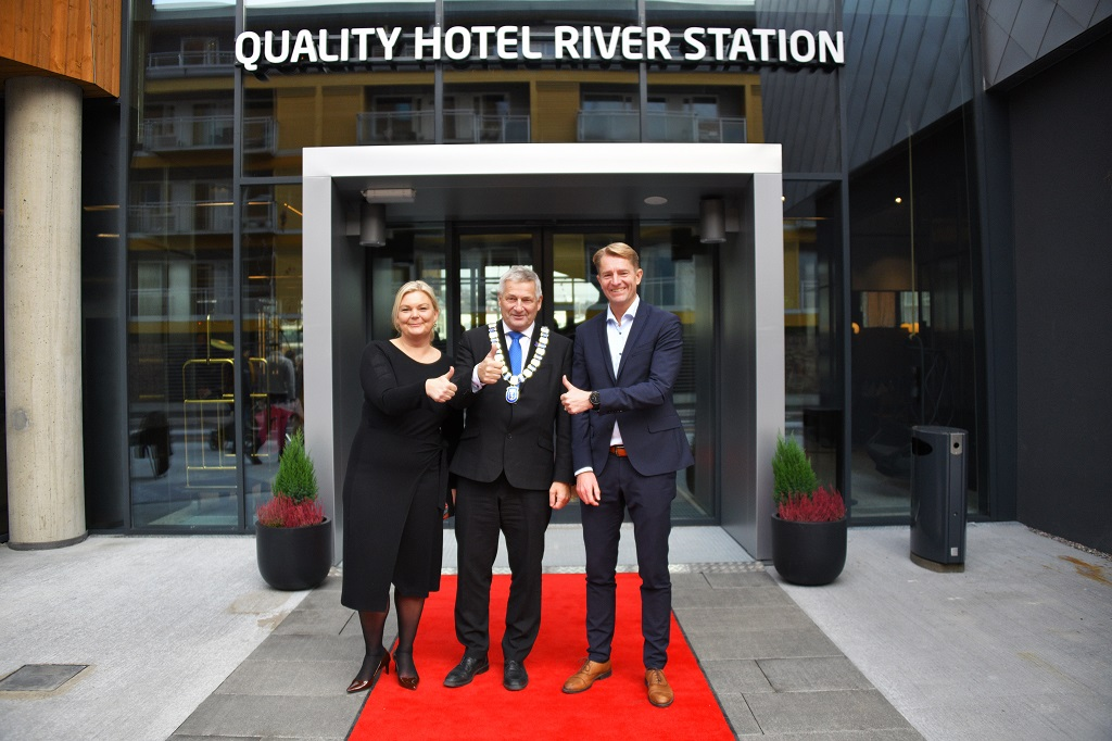 Quality River Station Hotel - Drammen