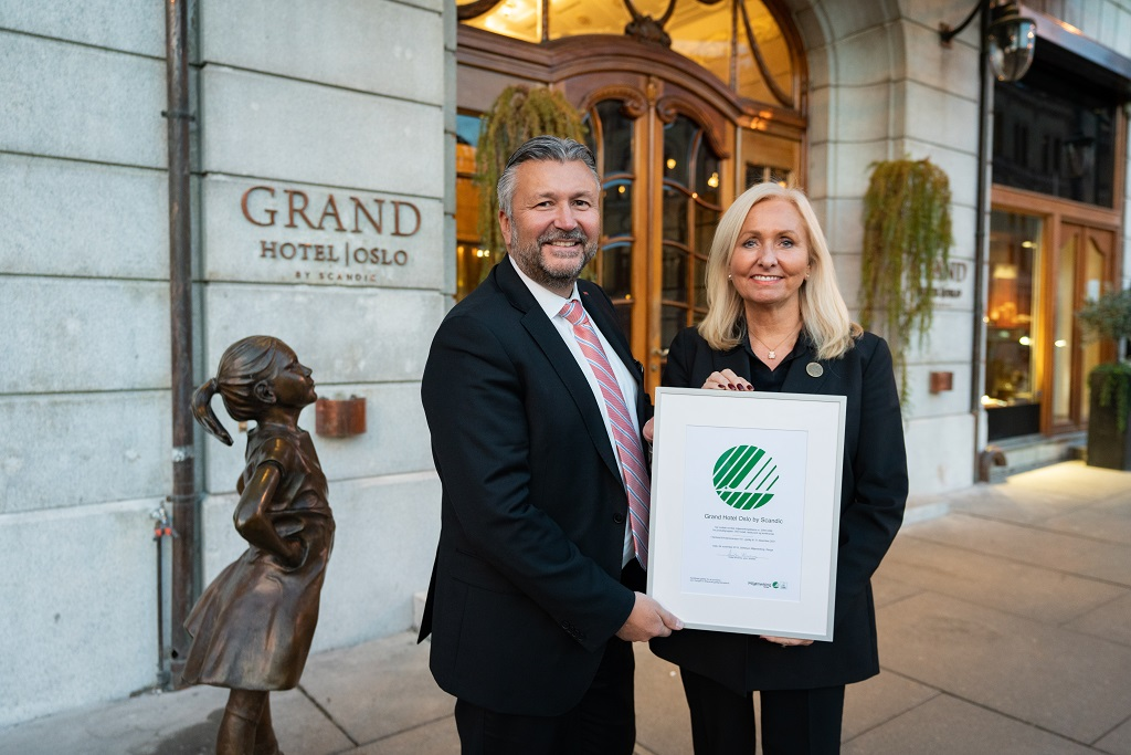 Grand Hotel Oslo by Scandic - Svanemerket - 2019