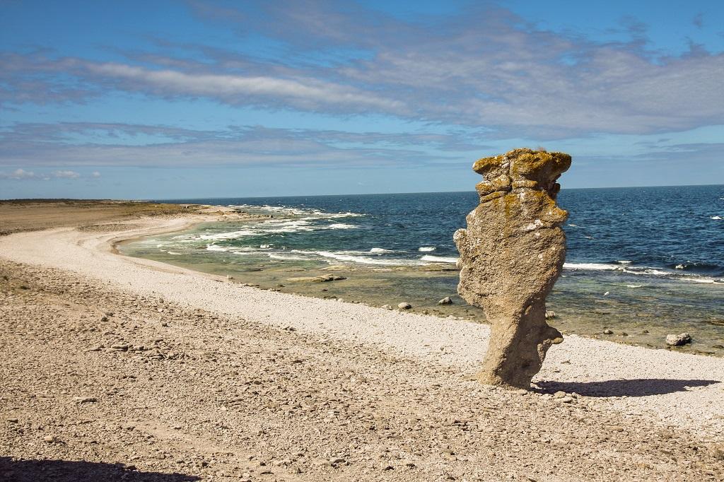 Raukar vid Langhammars -Gotland - Visby - Viking Line