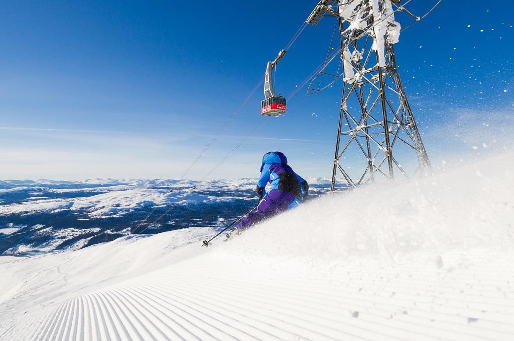 SkiStar- Alpinanlegg - Alpinist - Ã…re - Sverige