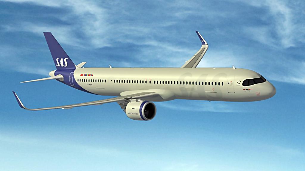 SAS - Airbus A321LR - Langdistansefly
