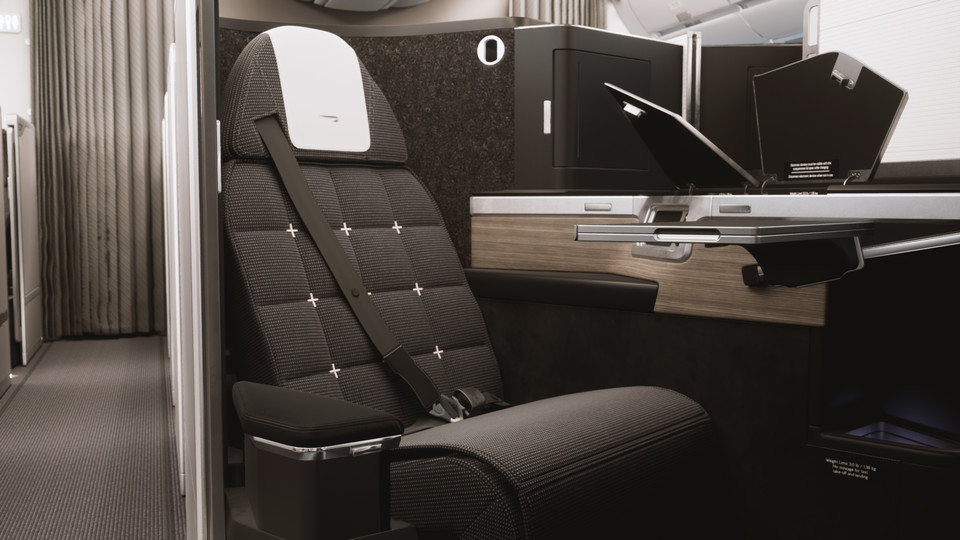 British Airways - Boeing B 787-10 - Club Suite