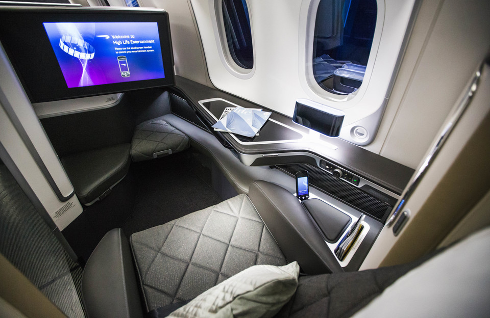 British Airways - Boeing B 787-10 - First Class Seat