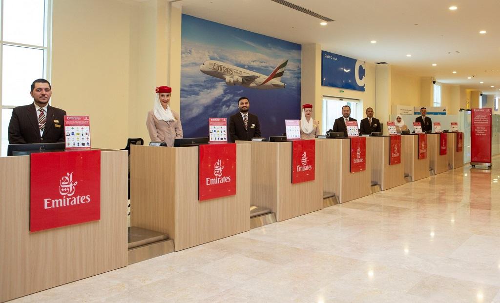 Emirates - Innsjekk - Terminal - Port Rashid