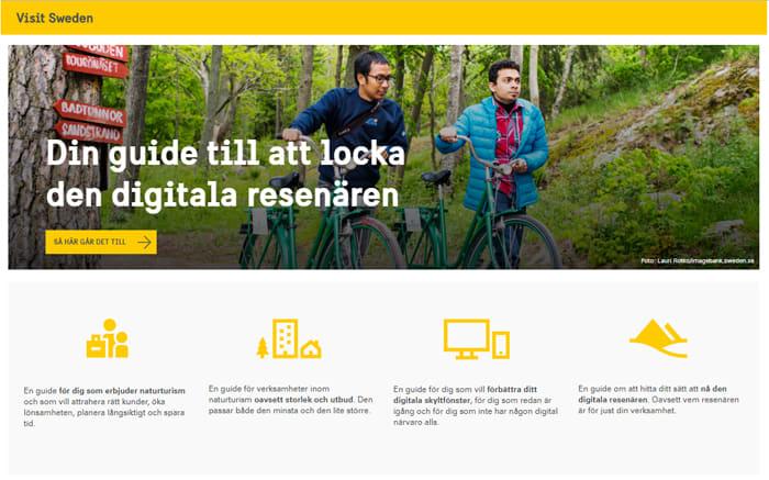 Visit Sweden - E -guide - turismföretagare