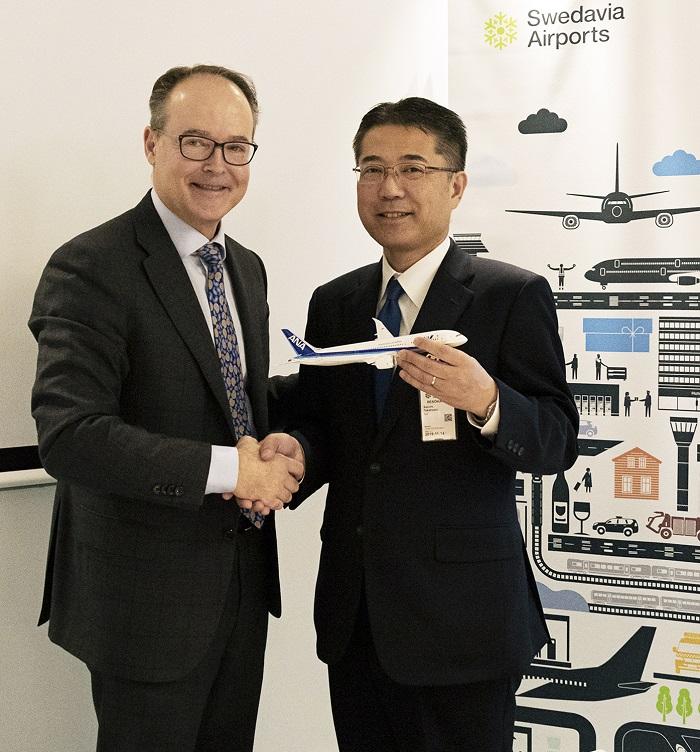 ANA - All Nippon Airlines - Tokyo - Arlanda - Swedavia