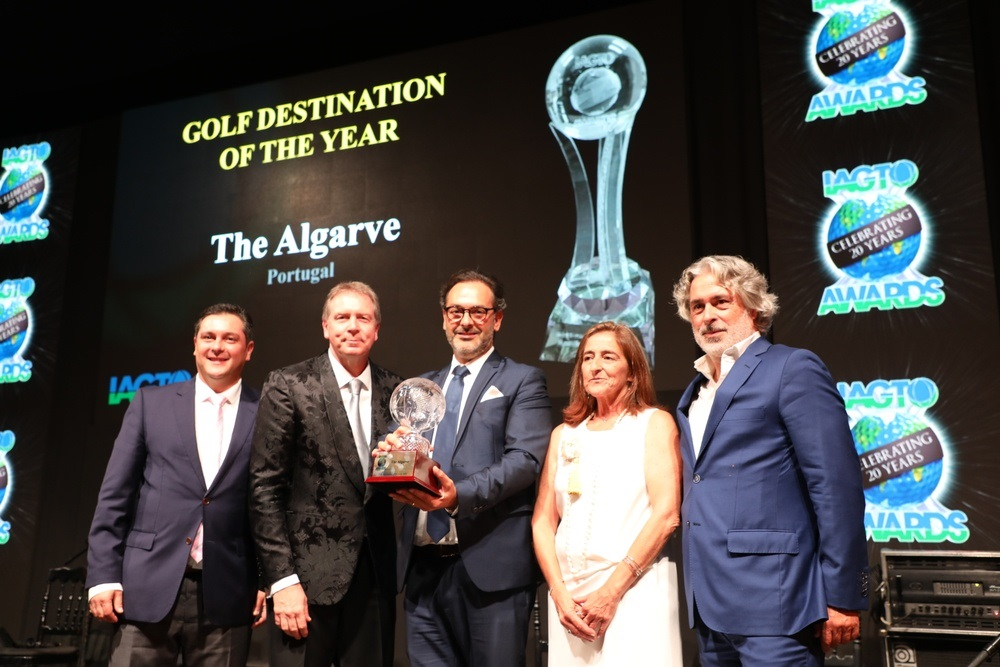 Algarve - Golf Destination of the year - IAGTO - International Golf Travel Market - Awards 2019
