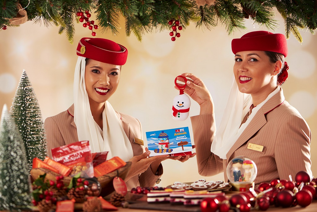 Emirates - Flyvertinner - julestemning - 2019