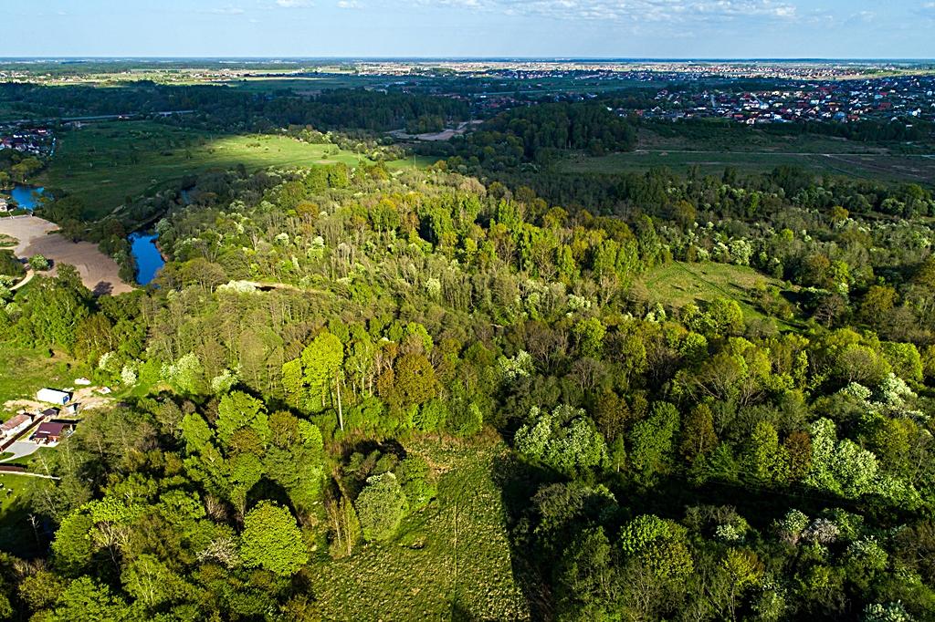 584 kilometer Litauen - Klaipeda - skog - Purmaliai - festning