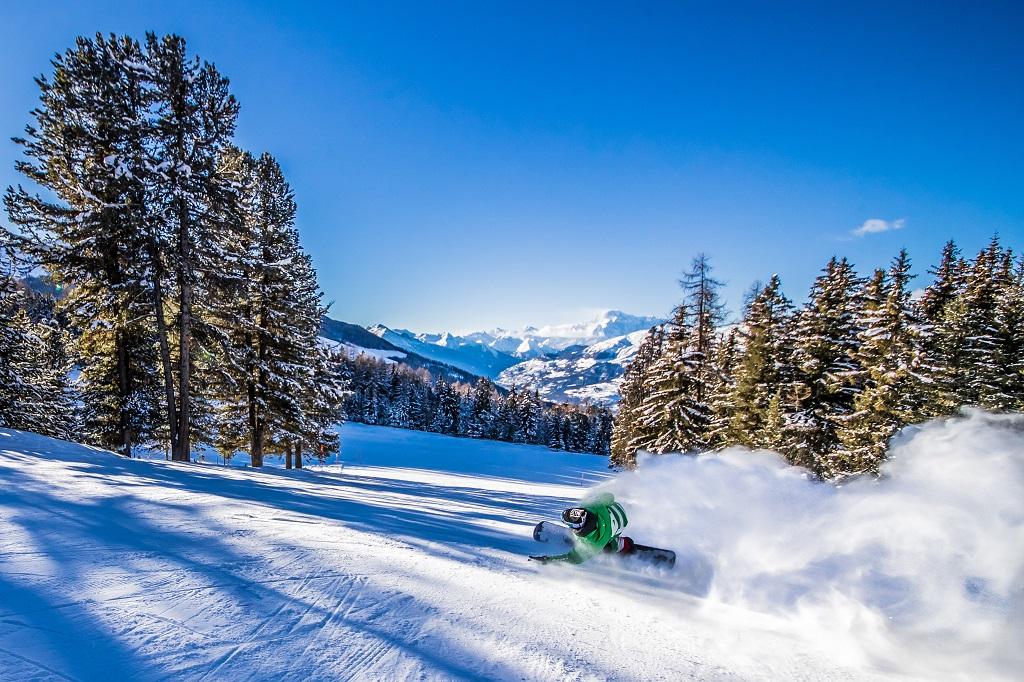 Snøbrettkjøring - Snowboard - Pila - Aosta - Italia