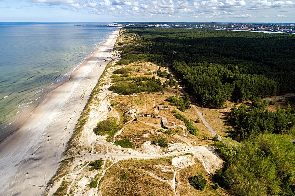 584 kilometer Litauen - Sandnstrand - Klapeida - Østersjøen