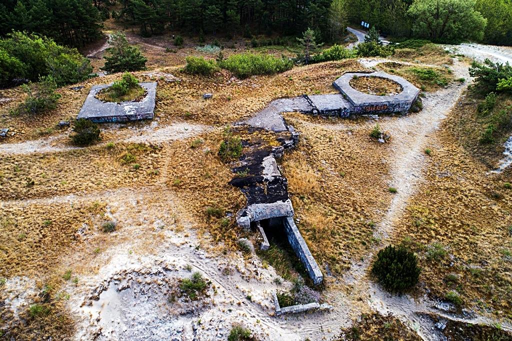 584 kilometer Litauen - Memel-Süd. - Jachman- Kanonbatteri