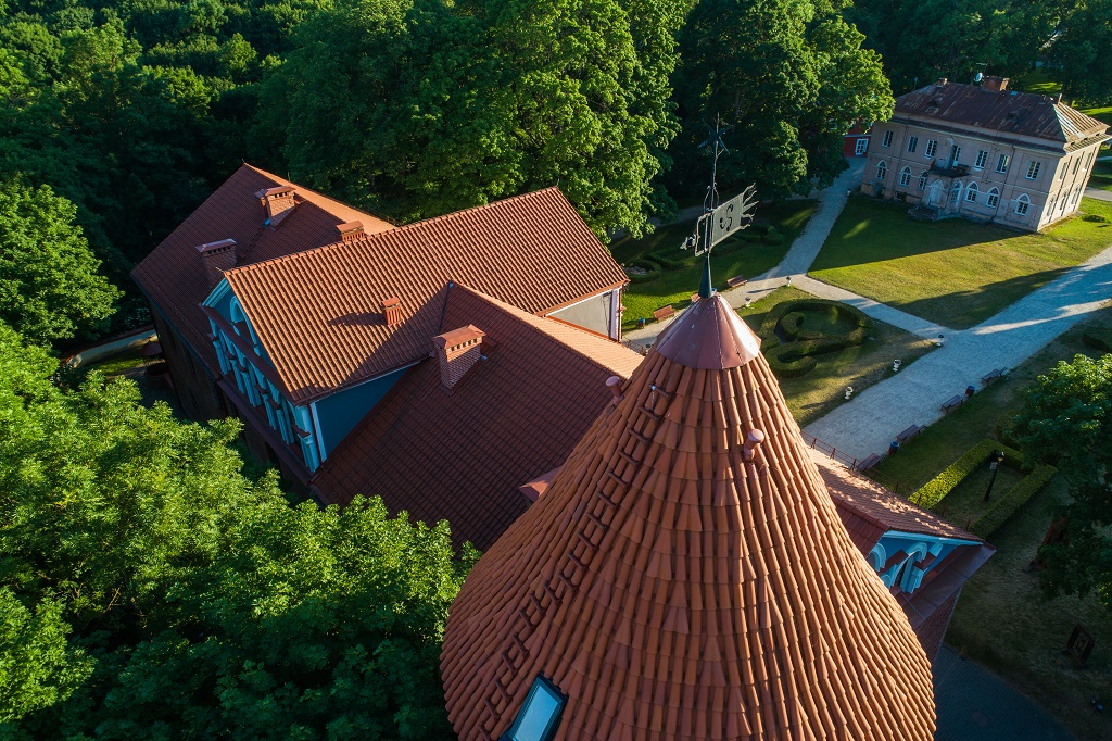 584 kilometer Litauen - Kaunas Castle