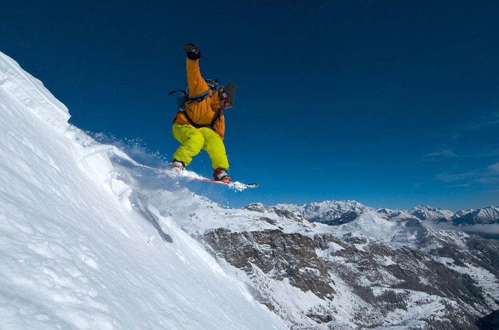 Snøbrett - Snowboard - Aosta - Nord-Italia