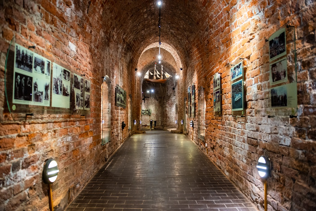 584 kilometer Litauen - The Castle Museum - Festningsmuseet