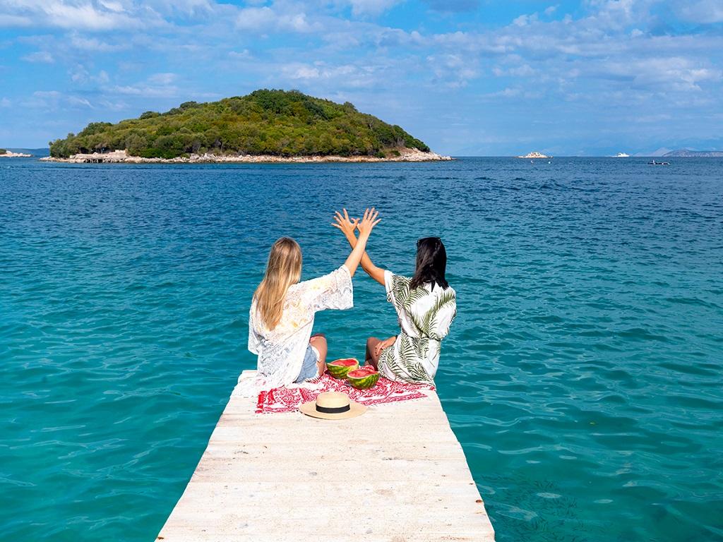 Albania - Strand - Adriaterhavet - kvinner