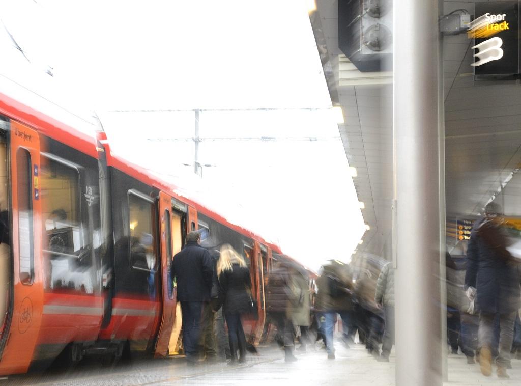 Oslo S - Jernbanestasjon - tog - Bane Nor