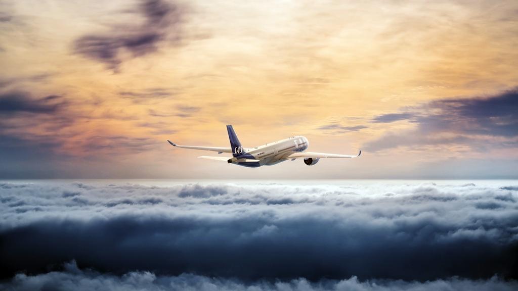 SAS - Airbus - A350 XWB - Airborne